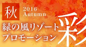 2016 Autumn 秋プロモーション ~彩~