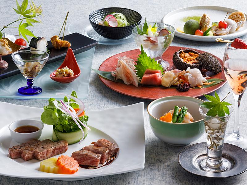 【もりの風茶寮・秋】2017年秋は、北海道と千葉県の名物料理を会席仕立てでご用意致します。
