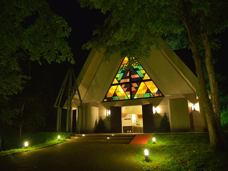 【緑の森の教会】
