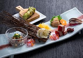 旬の味と全国各地の名物料理「もりの風茶寮」 お料理